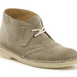 Clarks - Desert Boot PALE GREEN SUEDE