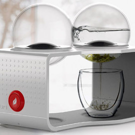 Dornob - 2-in-1 Cafe Lab: Combination Spill-Free Coffee & Tea Maker