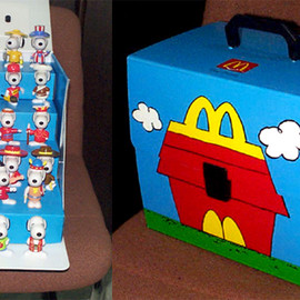 McDonald's - Snoopy World Tour 1 Box Set