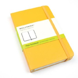 Moleskine - plane notebook yellow