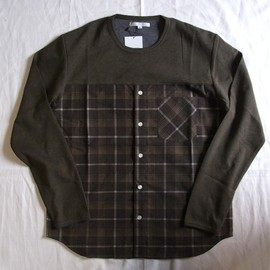 DISCOVERED - Flannel Check Cutsaw