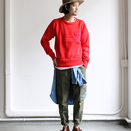 nanamica - COOLMAX Crew Neck Sweater