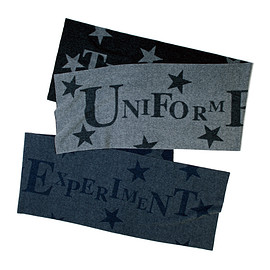 uniform experiment - STAR TYPOGRAPHY MUFFLER