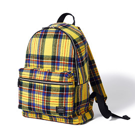 """HEAD PORTER - """"LESSON"""" DAY PACK YELLOW"""