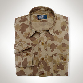 Polo Ralph Lauren - Custom-Fit Camo Workshirt
