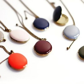 Beklina - French Enamel Lockets