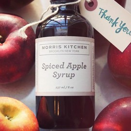 MORRIS KITCHEN - SPICED APPLE SYRUP