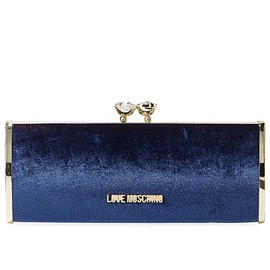 Love Moschino - Velvet Clutch Bag (2 ways)