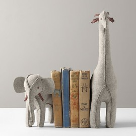 Restoration Hardware - Wool Felt Animal Bookend