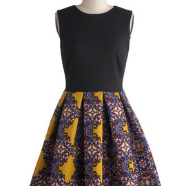 modcloth - Event Plan for Success Dress in Gold
