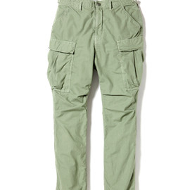 nonnative - TROOPER PANTS - COTTON RIPSTOP OVERDYED