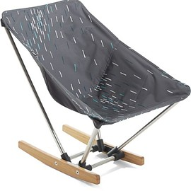 REI - evrgrn Campfire Rocker Charcoal Shower/Cinder