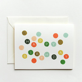 Rifle Paper Co. - Birthday Dots Card