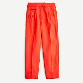 J.CREW - Tapered pant with front pleats