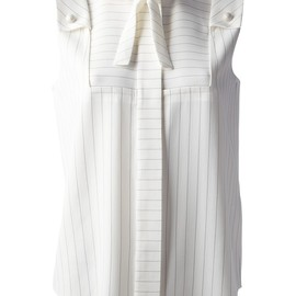 Chloé - sleeveless striped blouse