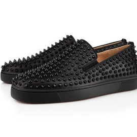 Christian Louboutin - 2012 Rollerboat Flat in Black