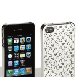 MARC BY MARC JACOBS - MARC BY MARC JACOBS iPhone 4 ハードケース 4G Metallic Stardust Logo Cover
