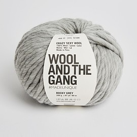 Wool and the Gang - Crazy Sexy Wool rocky grey