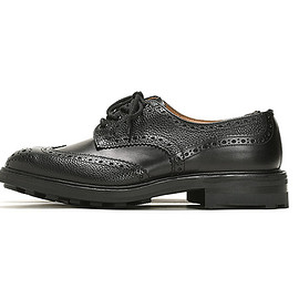 Tricker's - Two Tone Derby Brogues M5633-Black