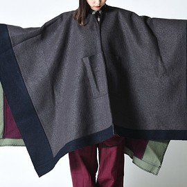 Leh - Bonding Wool Poncho