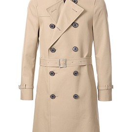 Loveless - double breasted trench coat