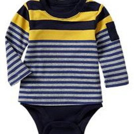 gap - Mixed-rugby stripe body double