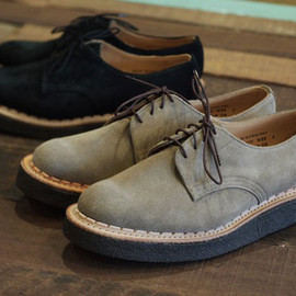 George Cox  -  British Remains Suede Creepers Shoes