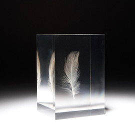 Shiro Kuramata 倉俣史朗 - FLOATING FEATHER SCULPTURES, 1990