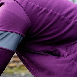 Rapha - Winter Jersey AW2014 Purple