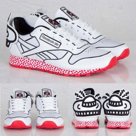 Reebok - KEITH HARING × REEBOK CLASSIC LEATHER LUX SPACESHIP