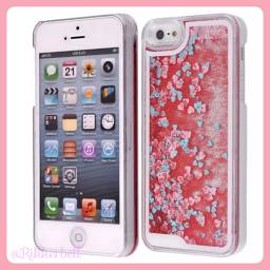 plamode - Glitter Heart iPhone case Red