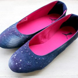 Re:Values - GALAXY Flat Shoes
