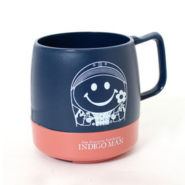 "DINEX - ""Mr . INDIGO MAN""  8oz MUG"
