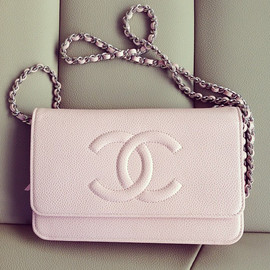 CHANEL - baby pink.