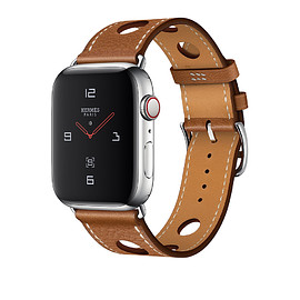 Apple, Hermès - WATCH Hermès SERIES 4: Leather Single Tour Rallye