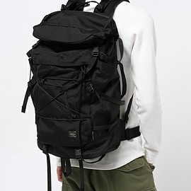 PORTER - PARAMOUNT PACKER/BACK PACK - Black