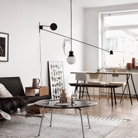 my scandinavian home - ONE SWEDISH APARTMENT, TWO DIFFERENT WAYS OF DOING GREY