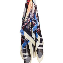 GIVENCHY - Masked Man Cotton-blend Scarf