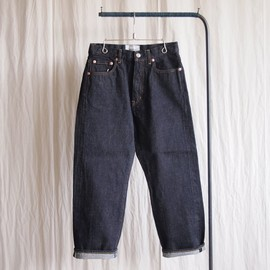 YAECA - Denim - slim tapared / 14oz one wash #indigo