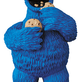 MEDICOM TOY - UDF SESAME STREET COOKIE MONSTER