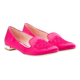 miu miu - Pink satin slippers