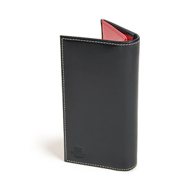 Whitehouse Cox - S9697 Long Wallet-Holidayline-Black×Red
