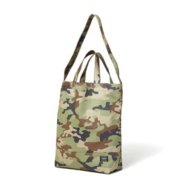 "HEAD PORTER - ""AMBUSH"" 2WAY SHOPPING BAG"