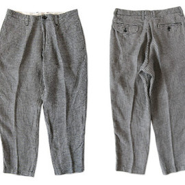 ordinary fits - LINEN TUCK CROPPED