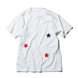 SOPHNET. - STAR EMBROIDERY TEE