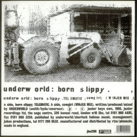 underworld - born slippy [1995 UK 2-track 12inch Vinyl]