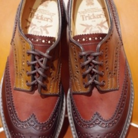 Tricker's - Tricker's×Hummingbirds'hill shop CORDVAN WING TIP SHOES