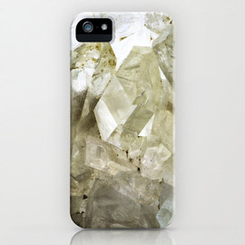 dsbrennan - Photo iPhone Case - Mineral Quartz Crystal Photograph - Crystalline