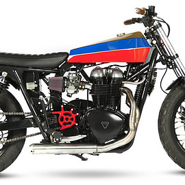 Maria Motorcycles - SILLY KID 2001 Triumph Bonneville