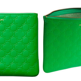 COMME des GARCONS - Wallet (Colour Embossed B Green)